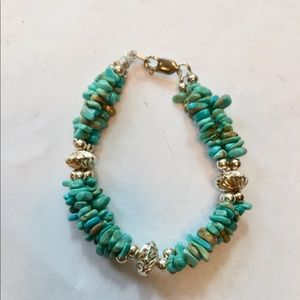 Jewelry - Sterling Silver and Turquoise Bracelet